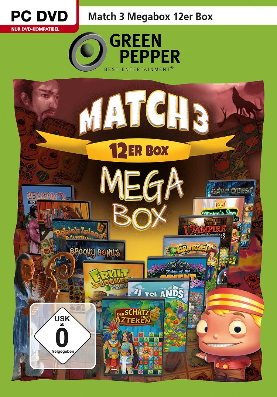 Match 3 Megabox 12er Box