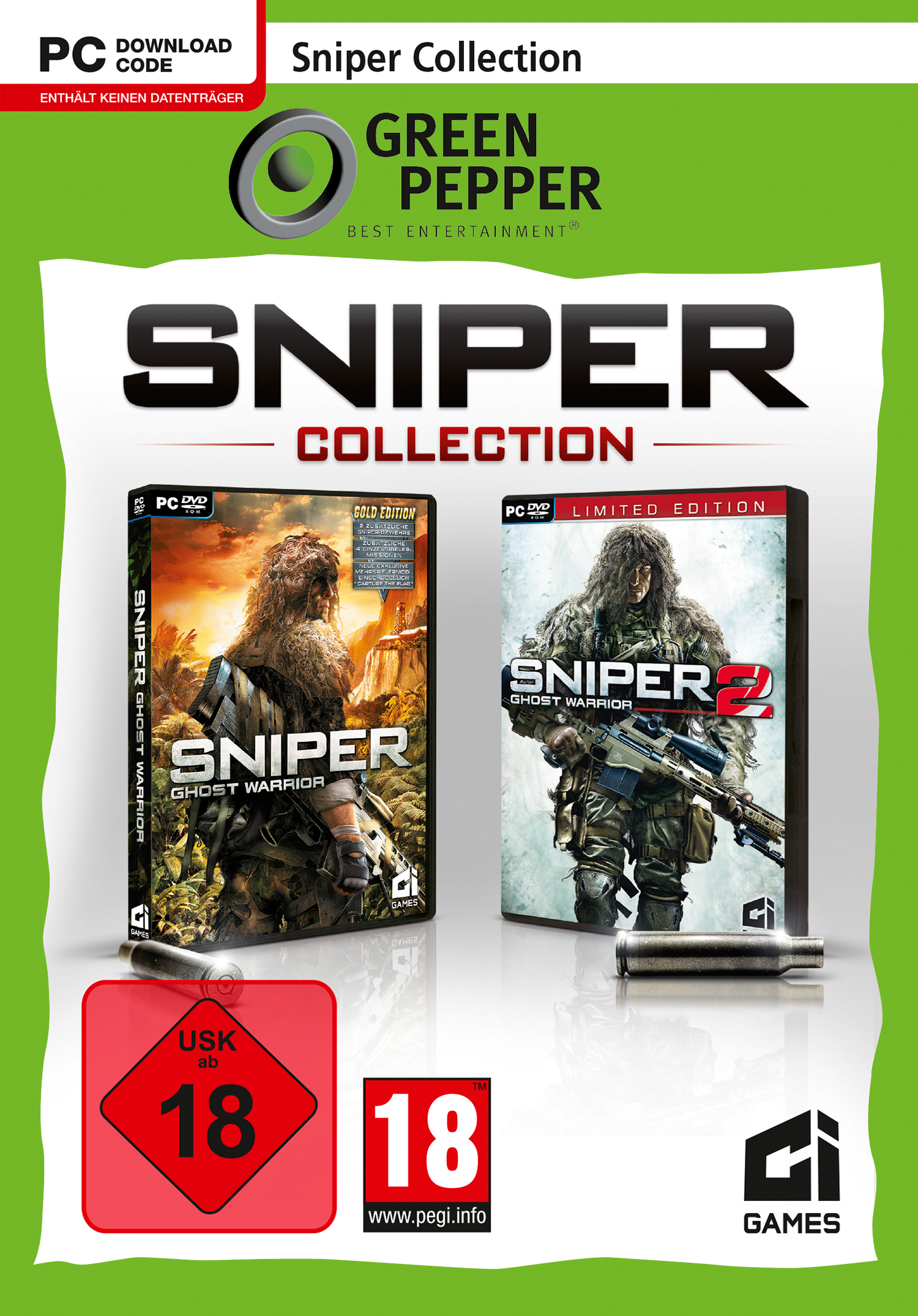 Sniper Collection (Code in the Box)